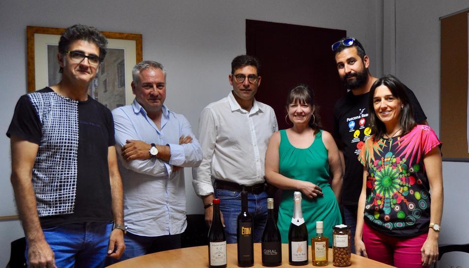 Imatge de la reunió dels productors que obriran mercat al Brasil.
