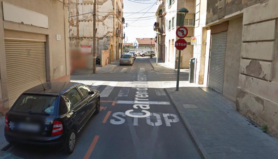 Els fets han succeït al carrer Misericòrdia cantonada amb carrer Lleó.