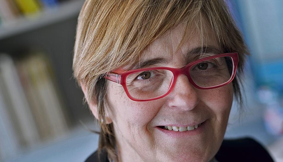 L'alcaldessa de Prades, Lidia Bargas.
