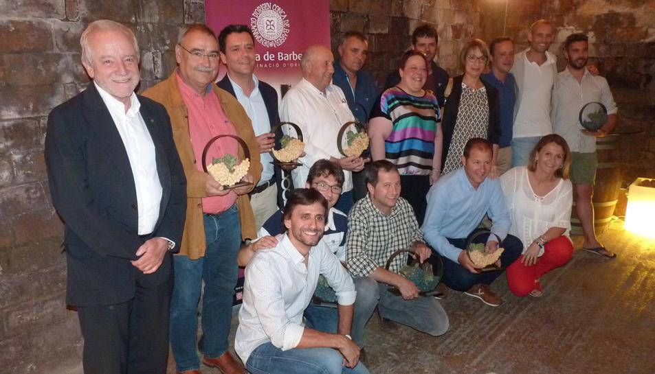Els guanyadors de l'elecció dels millors vins de la Conca del 2017.