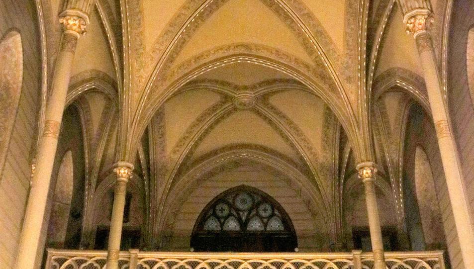 Els arcs del santuari de Nostra Senyora del Sagrat Cor.