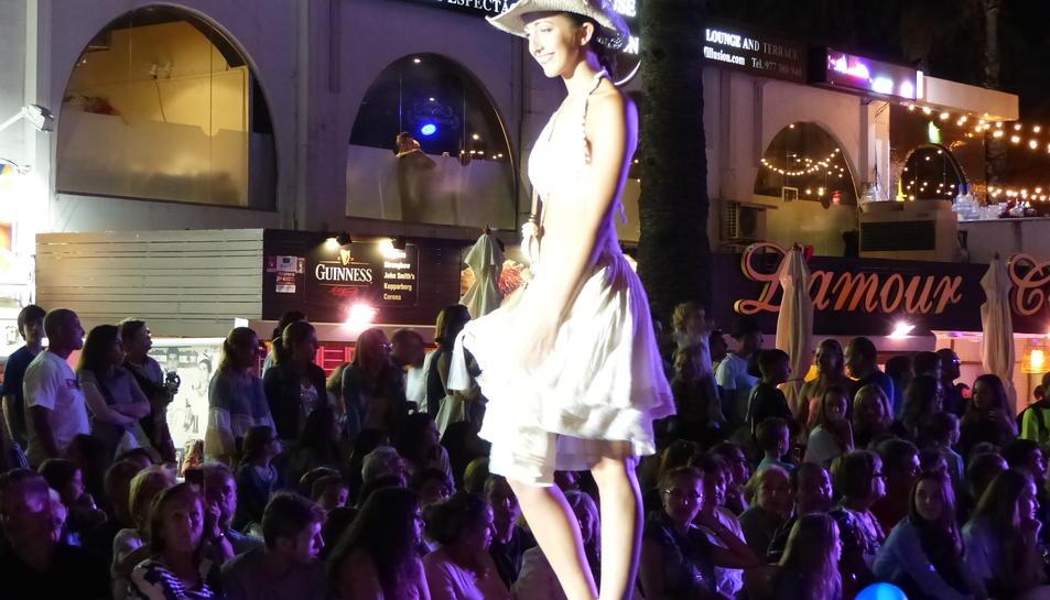 La desfilada de moda a Salou