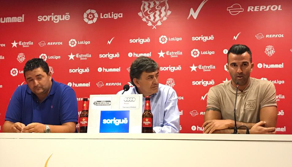 Emilio Viqueira, Josep Maria Andreu i Manolo Martínez.