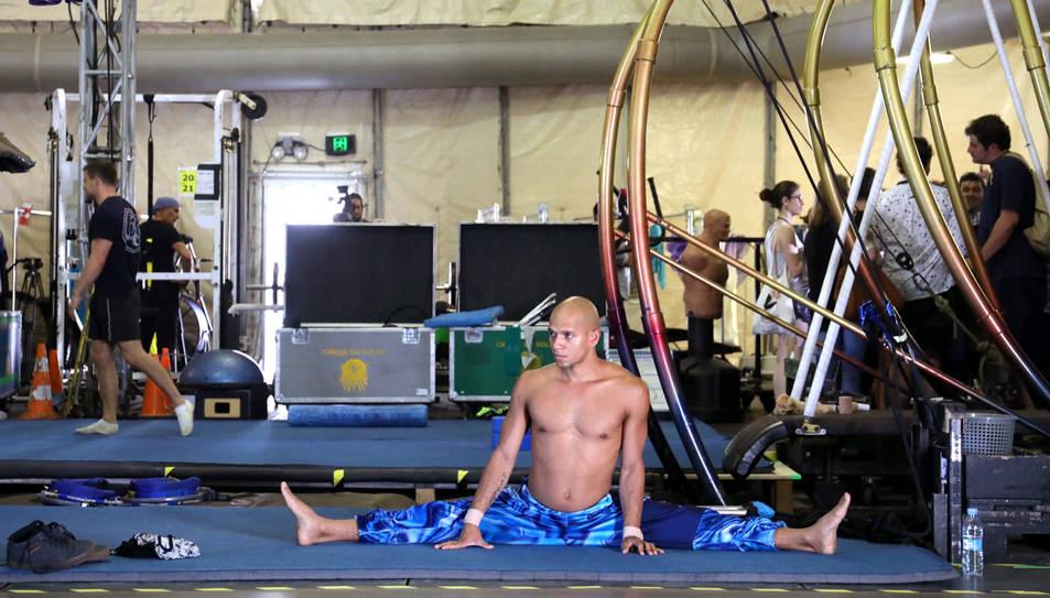 El Cirque du Soleil torna a PortAventura amb 'Varekai' - Assajos