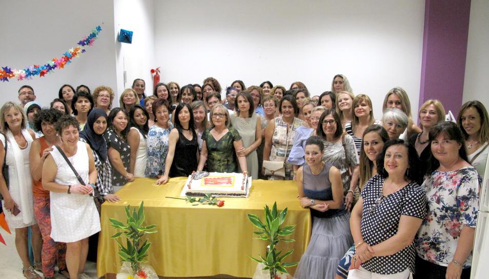 Festa de commemoració dels 30 anys de l'acadèmia i jubilació de la propietària.