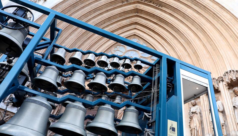 Les campanes del carrilló francès mòbil.