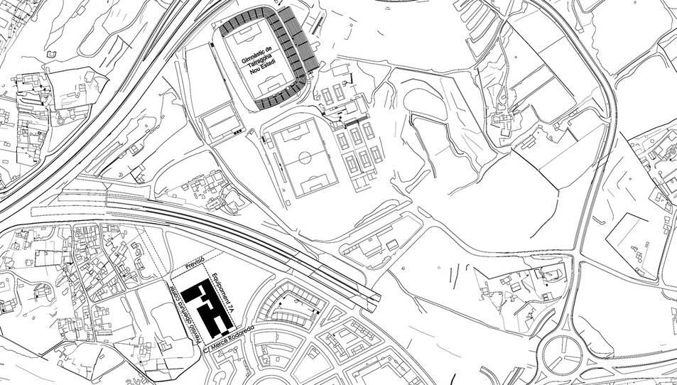 Aquesta serà la ubicació del centre.