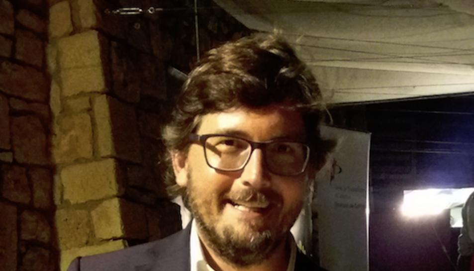 Javier Villamayor, en representació a Josep Fèlix Ballesteros, va recollir la Petxina Tancada.