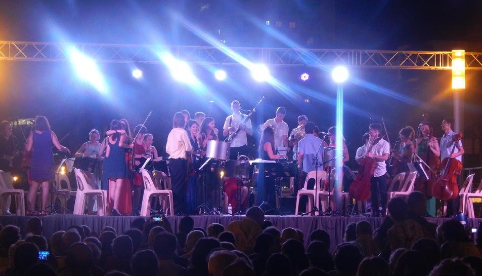 Un moment del concert.