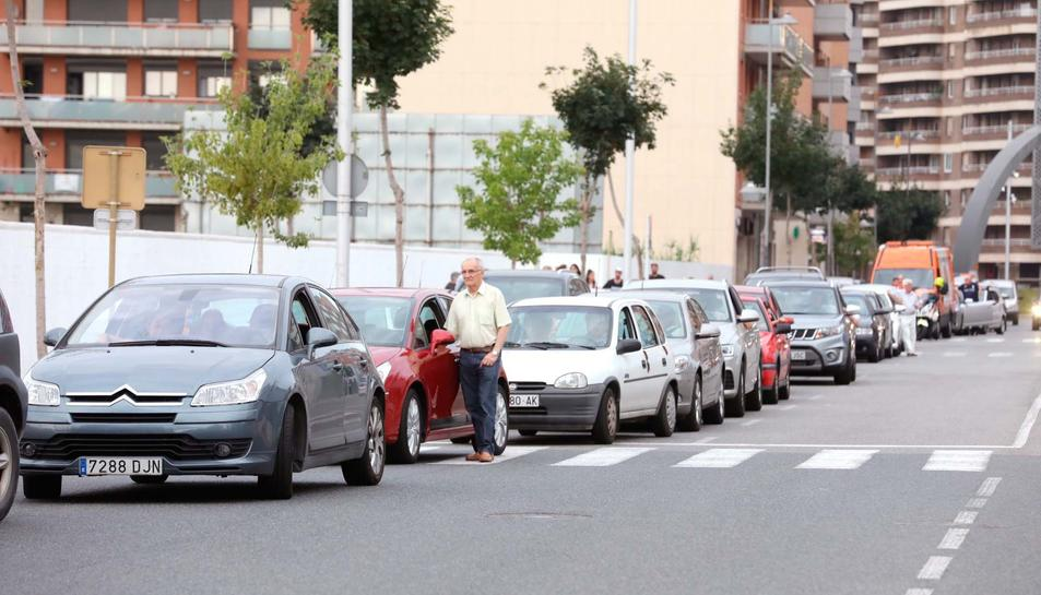 Bendición de san Cristòfor en Tarragona