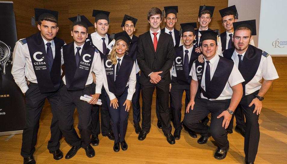 Foto de grup dels graduats.