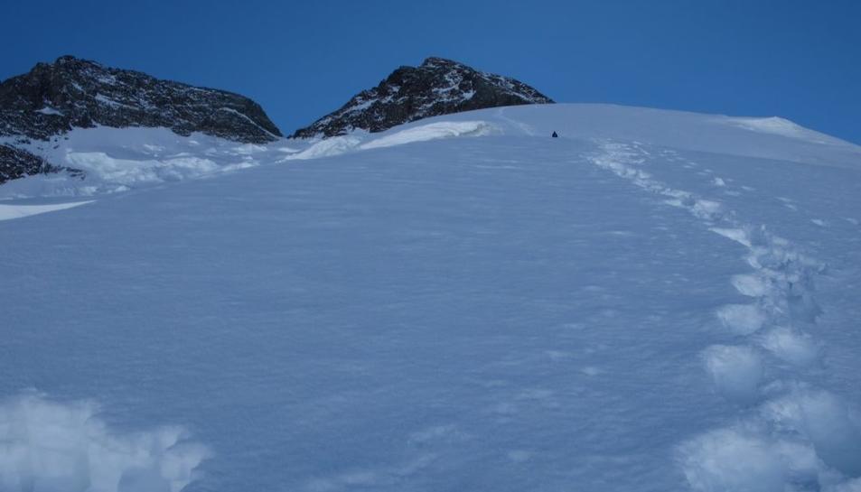El coll del Broad Peak.