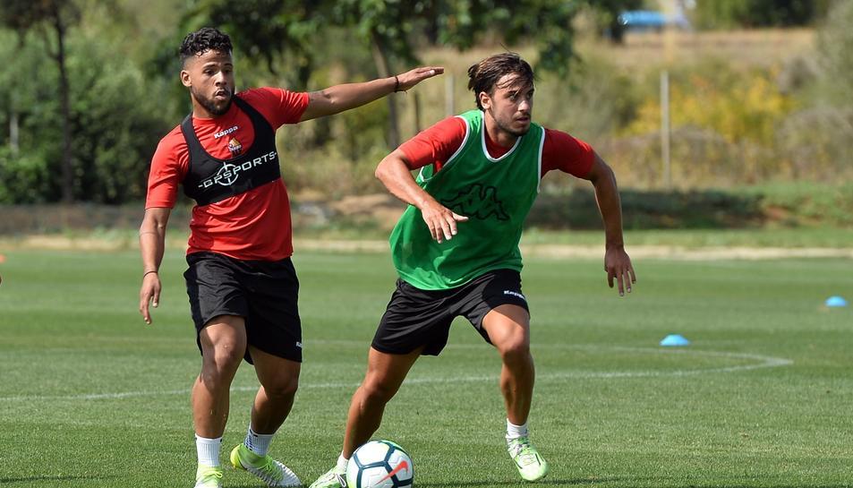 Ledes ja s'ha entrenat aquest dilluns amb el CF Reus.