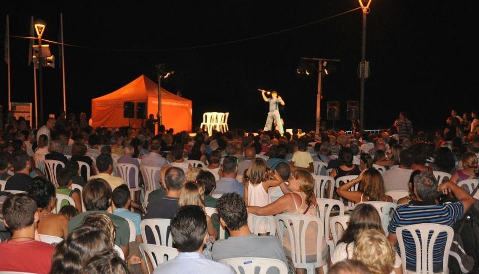 Imatge d'un dels espectacles de la darrera edició del Pleniluni.