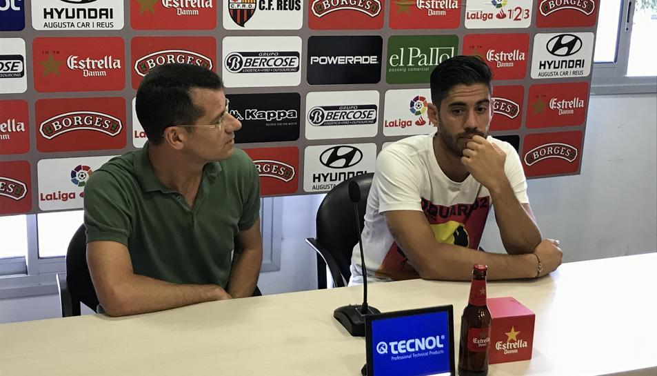 Roberto Santamaría i Sergi Parés.