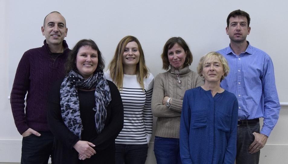 Els investigadors que han treballat en el projecte.