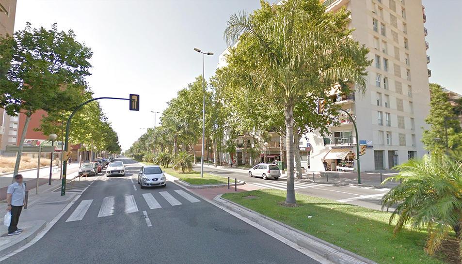 L'accident ha tingut lloc a l'Avinguda Salou.