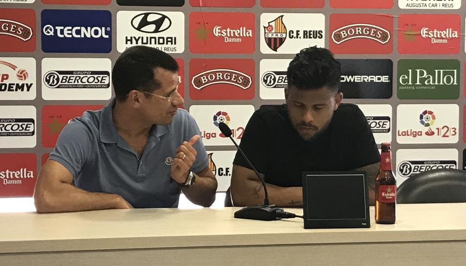 Gustavo Ledes i Sergi Parés.