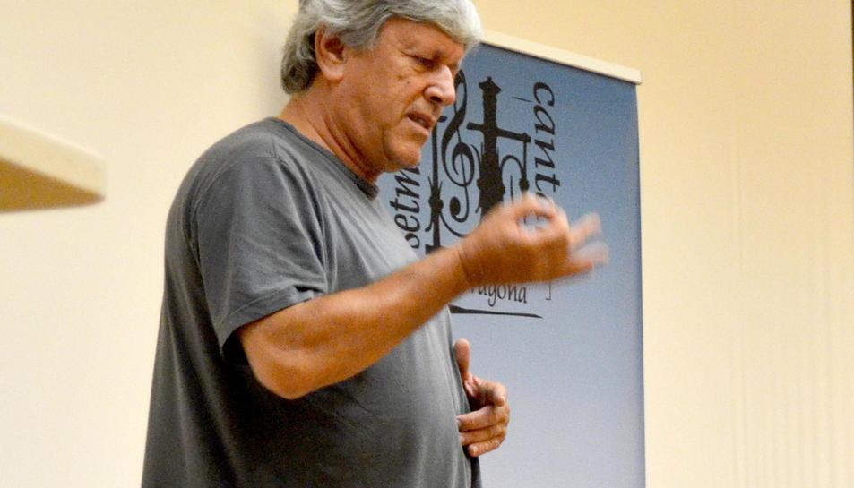 Pep Prats, director musical de la Setmana Cantant.