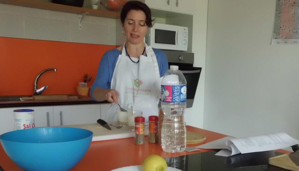 Imatge d'un dels tallers de cuina.