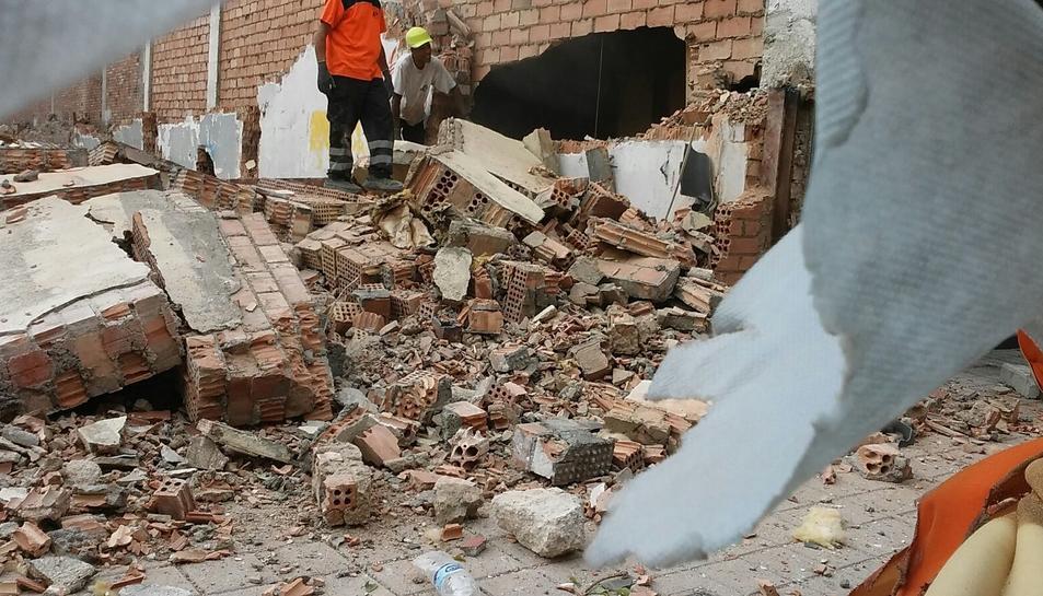 GEPEC denuncia 'mala praxis' en la demolició del Palace de Reus i la gestió de materials amb amiant