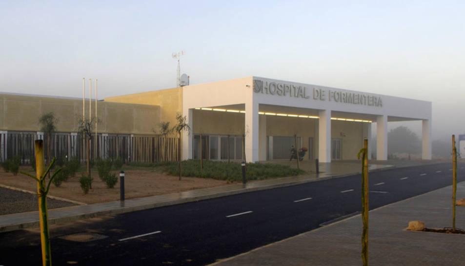 Imatge de l'Hospital de Formentera.