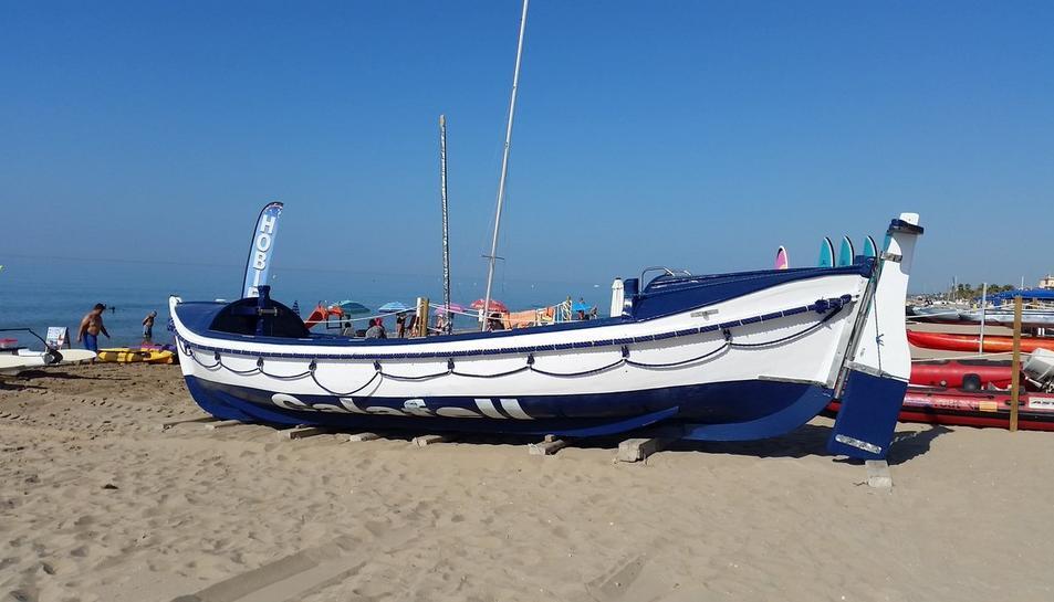 Imatge del Bot Salvavides de Calafell.