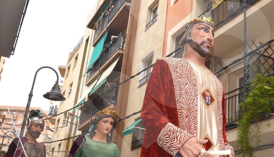 X Trobada Gegantera de les festes del Carme del Serrallo, 2017