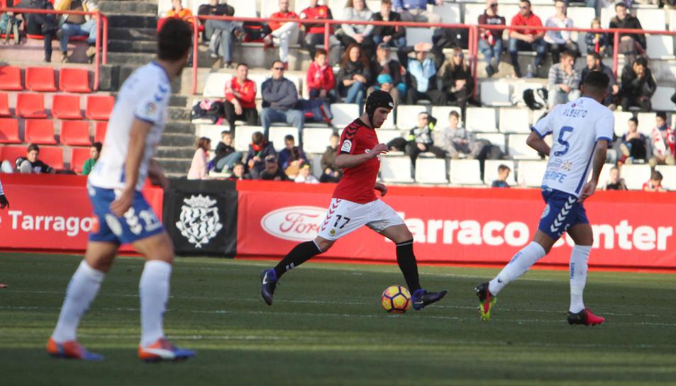 Luismi es va convertir en un futbolista indispensable tan bon punt va arribar al Nàstic.