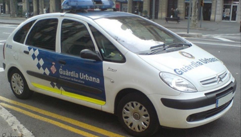 Un vehicle de la Guàrdia Urbana de Tarragona.