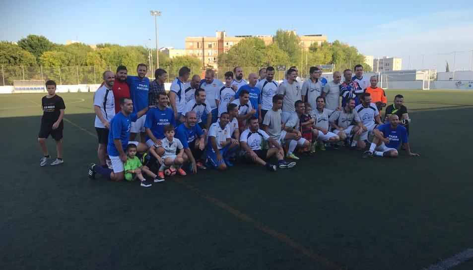 La Floresta es va convertir en una autèntica festa futbolística aquest dissabte.