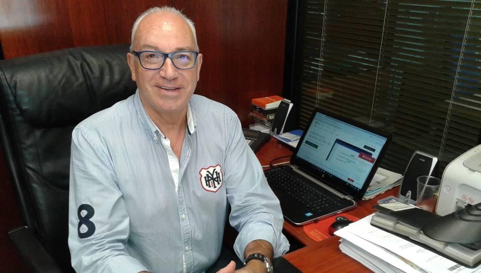 Hèctor Guasch, vicepresident del Col·legi d'Agents de la Propietat Immobiliària de Tarragona.