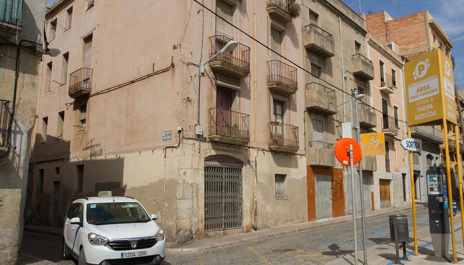 Els edificis s'han anat degradant al llarg dels anys