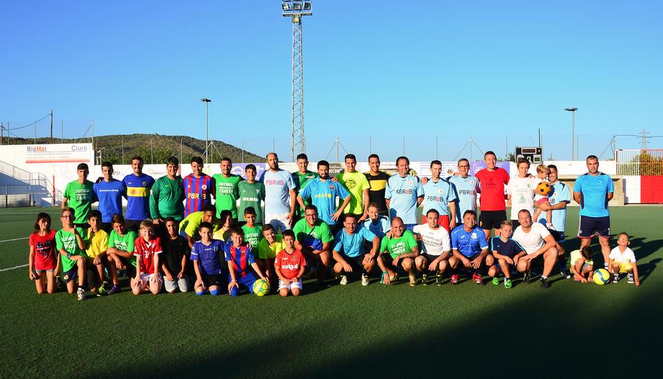 Imatge de la darrera edició del partit de futbol contra el càncer.