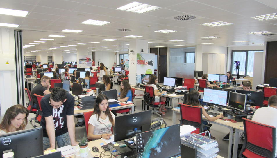 Imatge de les oficines de l'empresa Viajes para ti.