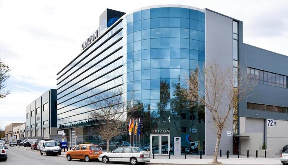 Oficines centrals d'Oryzon Genomics a la localitat de Cornellà del Llobregat.