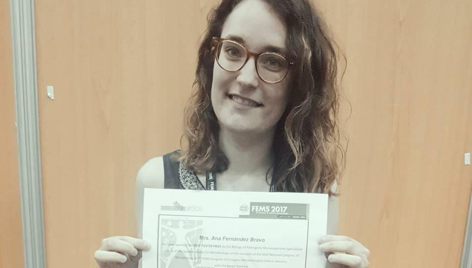Ana Fernández, doctoranda de la URV.