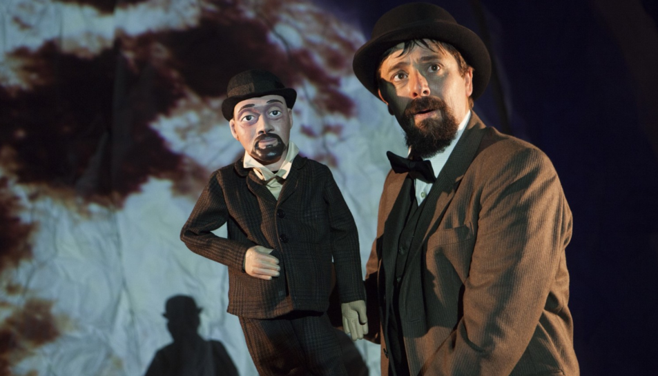 Imatge de l'espectacle 'Monsieur Croche', de la Cia Princep Totilau.