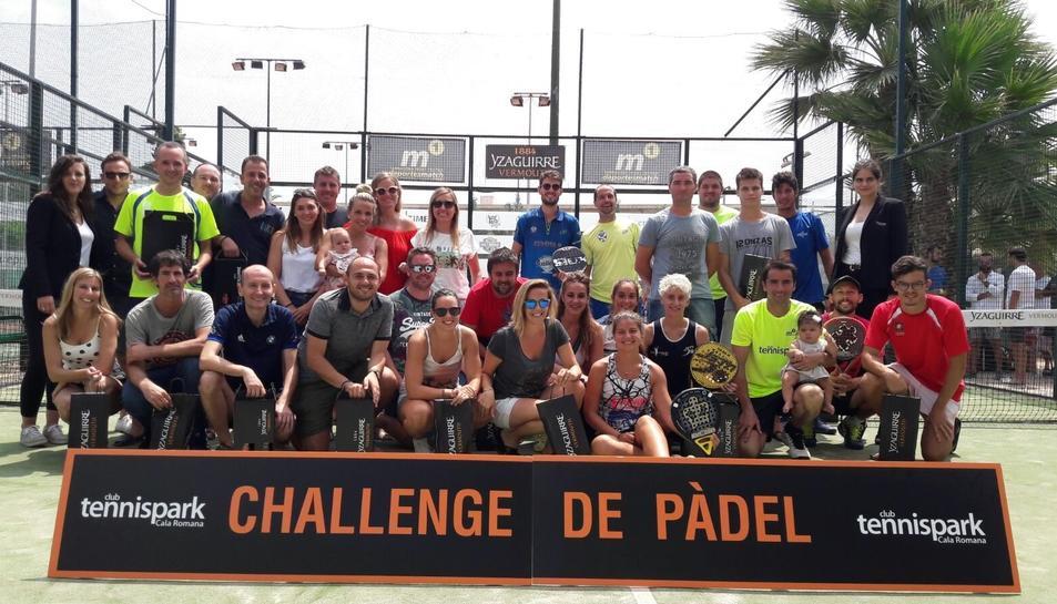 El Challenge de Pàdel TennisPark està obert a socis i no socis.