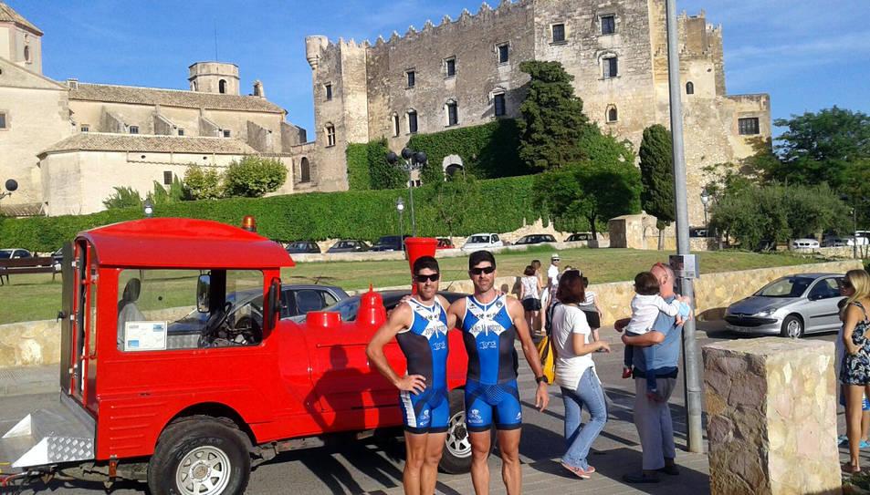 Els germans van aprofitar per fer turisme pel municipi del Tarragonès.