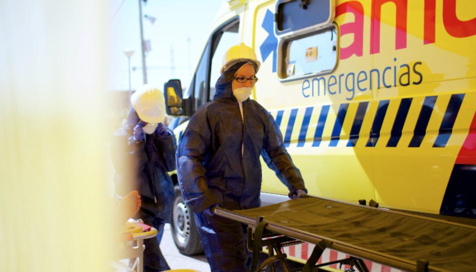 Les víctimes estan sent avaluades a l'hospital al qual han estat traslladades per les dues unitats del Samu.