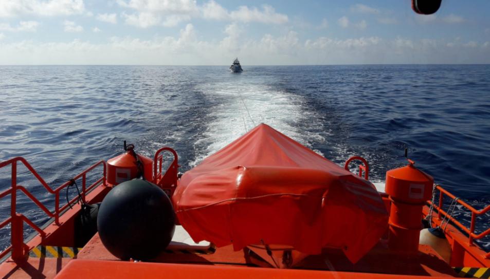 El vaixell havia salpat del Moll de Pescadors de Tarragona.