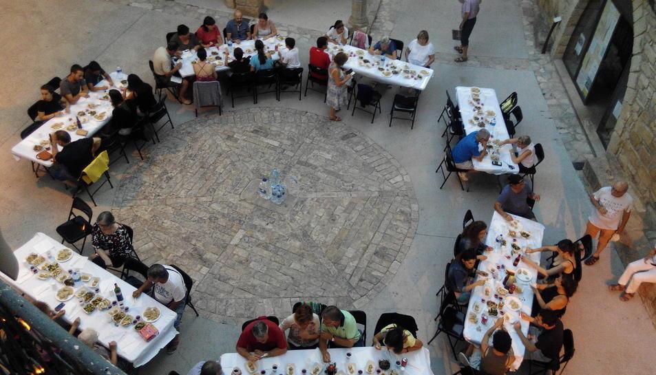 El menjar xinès també va ser present en les Nits de Juliol.