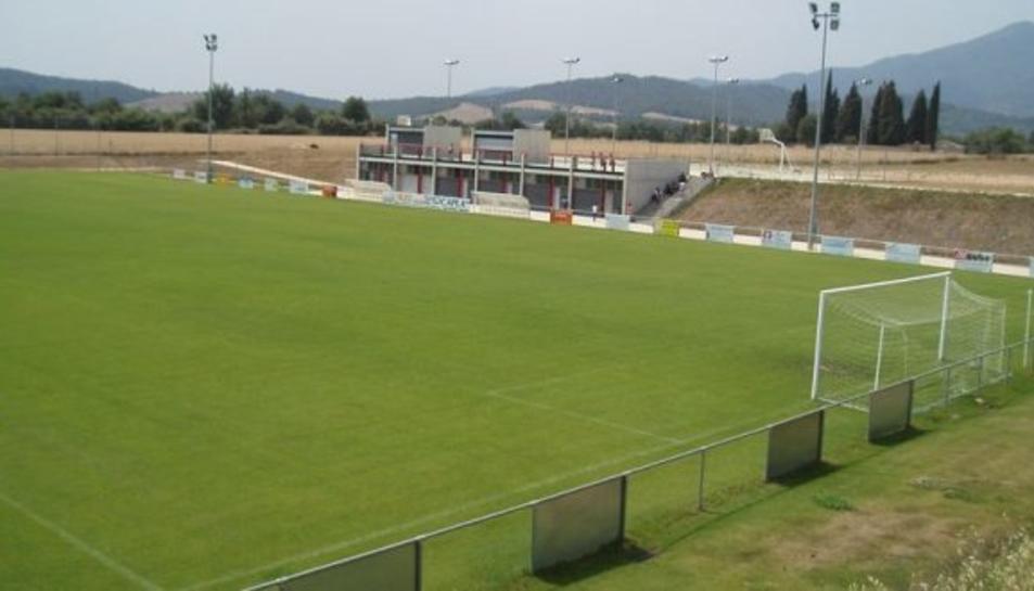 El partit es jugarà al Camp Municipal Sant Julià de Llor i Bonmartí.