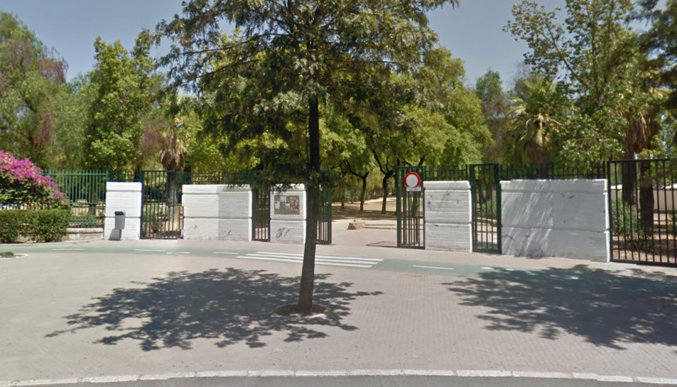 Imatge de l'exterior del parc a Sevilla.