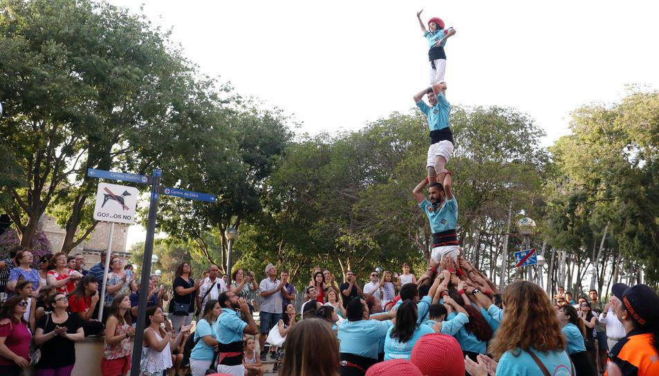 Pasacalle del séquito de la Festa Major d'Estiu de Vila-seca