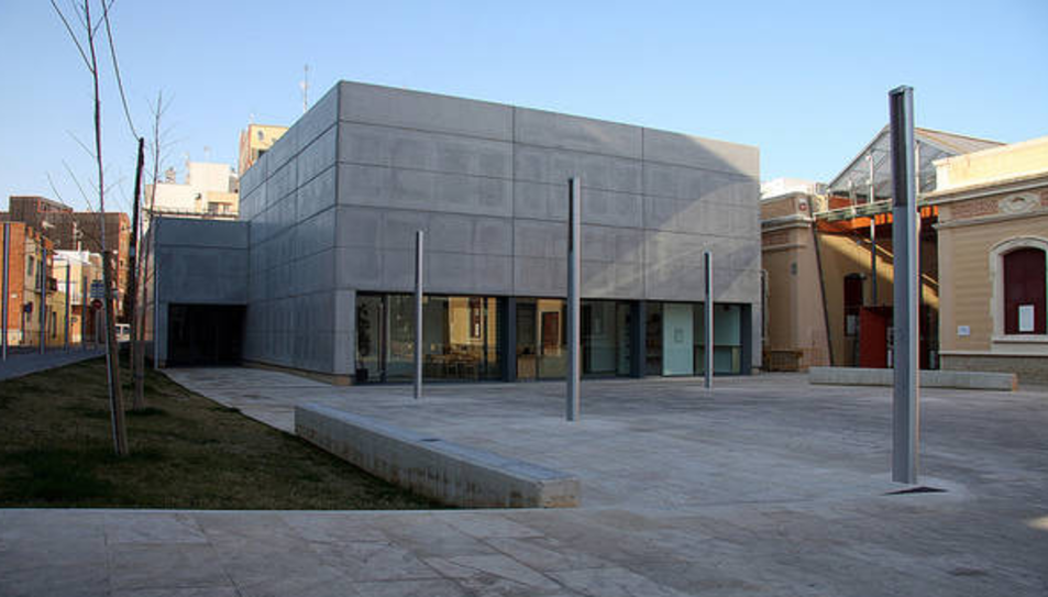 El Centre d'Art Terres de l'Ebre Lo Pati en una imatge d'arxiu.