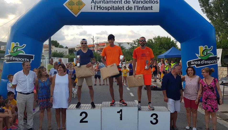 El guanyador en categoria masculina va ser Hakim Hamid, del club Esports Armobal de Reus.