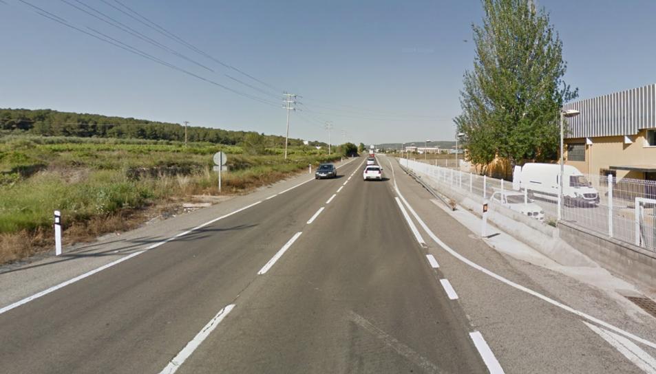 S'han creat fins a quatre quilòmetres de retencions a la via.