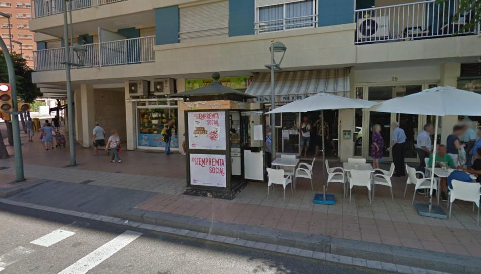El quiosc de l'agent que ha venut les butlletes guanyadores es troba al número 25 de l'Avinguda Catalunya.